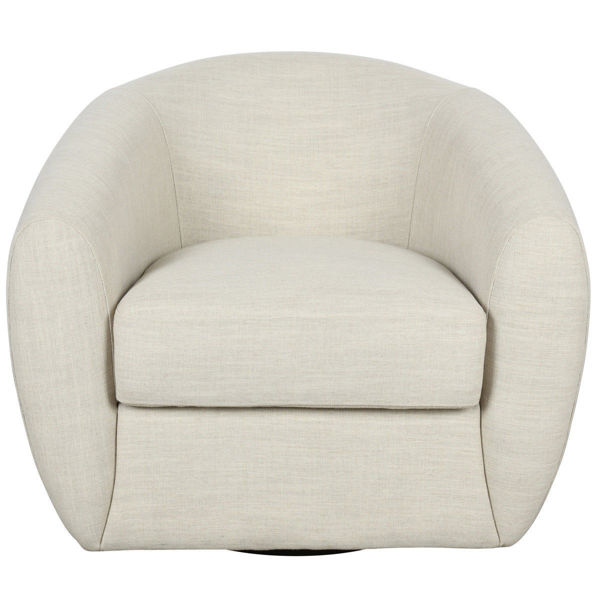 Picture of DOMINIC SWIVEL ACCENT CHAIR