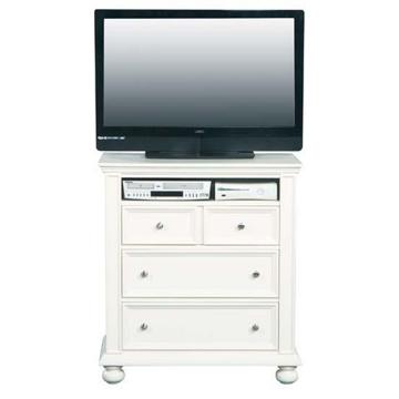 Picture of Cape Cod White TV Chest