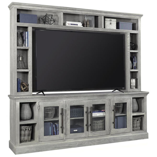 "Picture of LONDON 97"" 2PC ENT WALL UNIT"