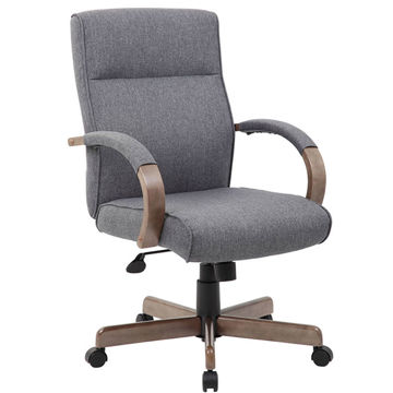 Picture of LINEN GREY EXEC OFFICE CHAIR