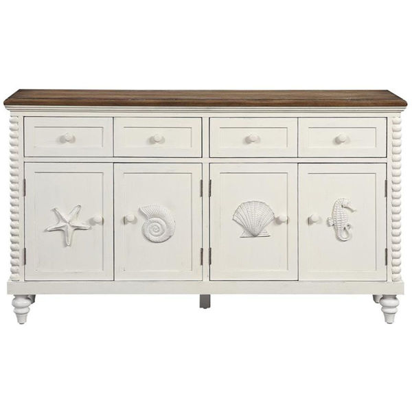Picture of 4 DRW 4 DR CREDENZA