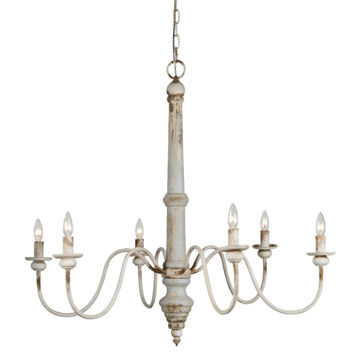Picture of SASHA 6-LT DIST CHANDELIER