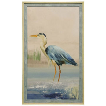 Picture of TEXTURED BIRD FRAMED PRINT