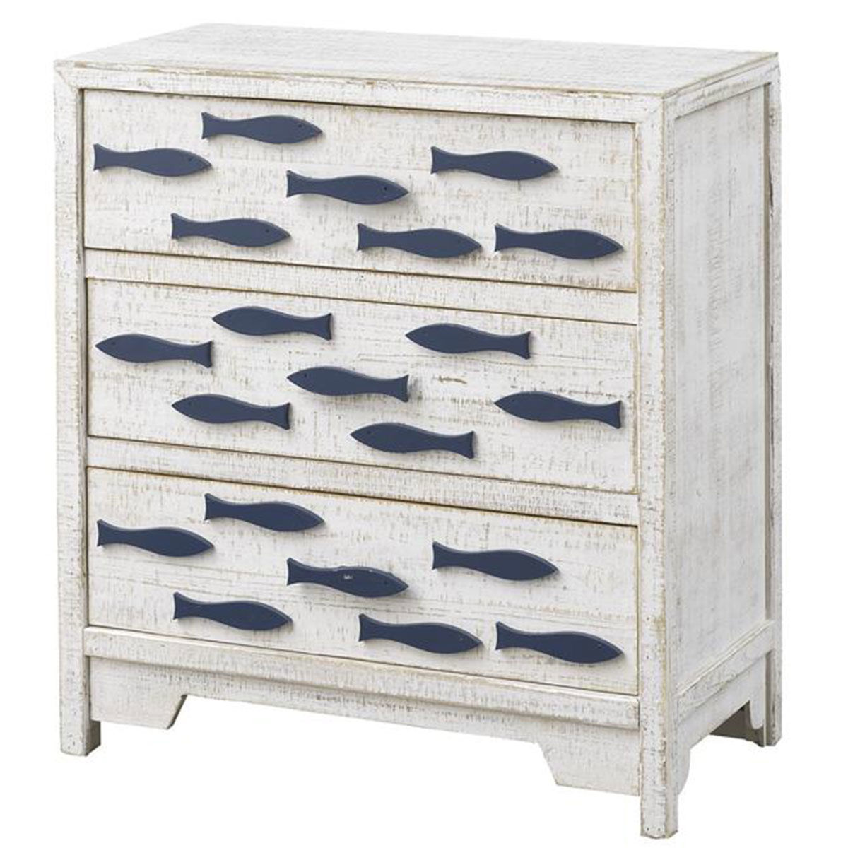 Picture of 3 DRW CHEST W/NAVY FISH