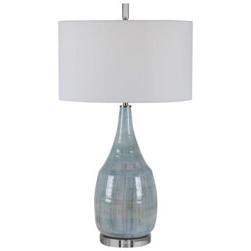 Picture of RIALTA BLUE CERAMIC T-LAMP