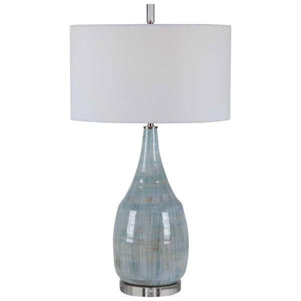 Picture of RIALTA BLUE CERAMIC T-LAMP