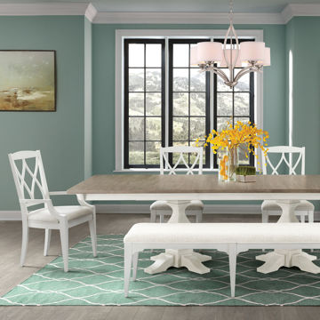 Picture of Myra White 6 Piece Dining Room Set