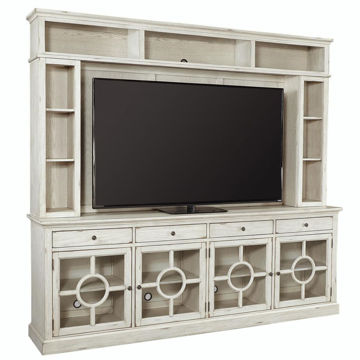 "Picture of RADIUS 96"" CONSOLE & HUTCH SET"