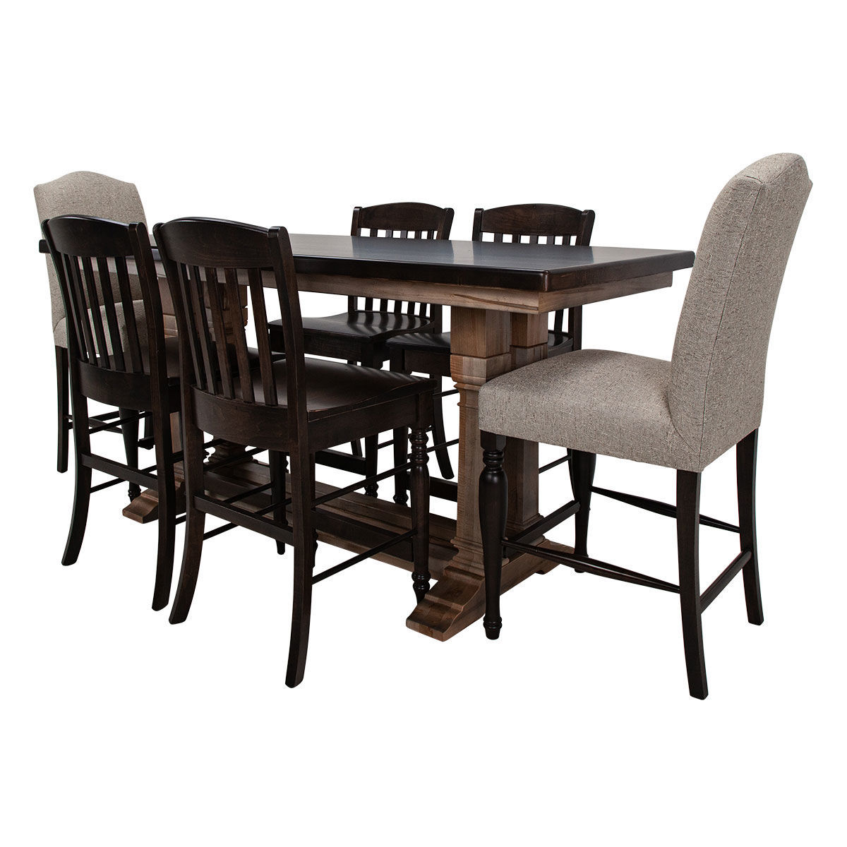 Picture of BENCHMADE 7PC GATHER DINING SET