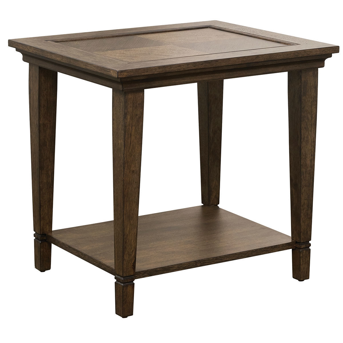 Picture of LEWISTON SQUARE END TABLE W /WOOD