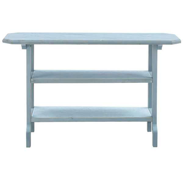 Picture of BLUE ACCENT TABLE