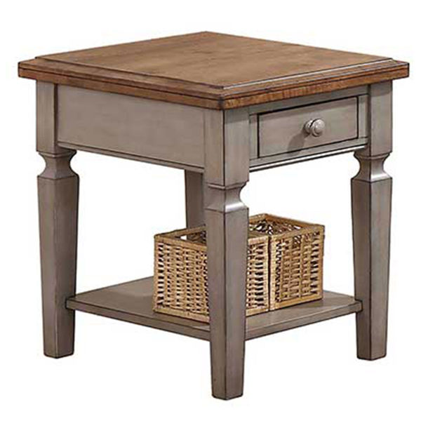 """Picture of Barnwell 1-Drawer 18"""" End Table"""