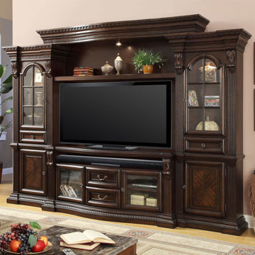 Picture of BELLA 4PC ENTERTAINMENT WALL