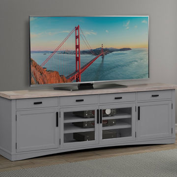 "Picture of AMERICANA 92"" TV CONSOLE DOVE"