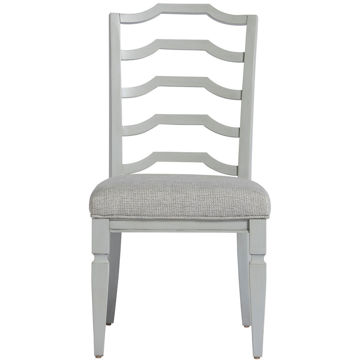 Picture of Summer Hill Gray Ladder Back Side Chair
