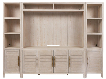 Picture of GETAWAY 4PC MEDIA WALL UNIT