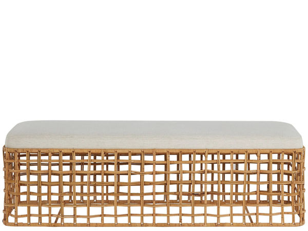 Picture of GETAWAY RATTAN BENCH