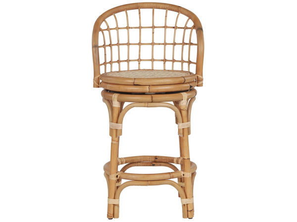 Picture of RATTAN COUNTER STOOL