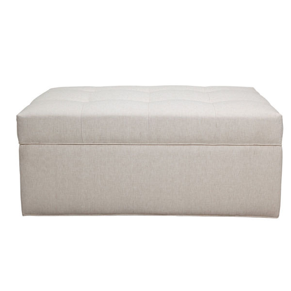 Picture of CUSTOM LARGE RECTANGULAR STORAGE OTTOMAN