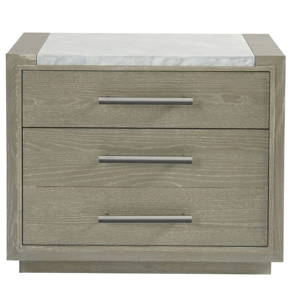 Picture of ZEPHYR NIGHTSTAND W/STONE TOP