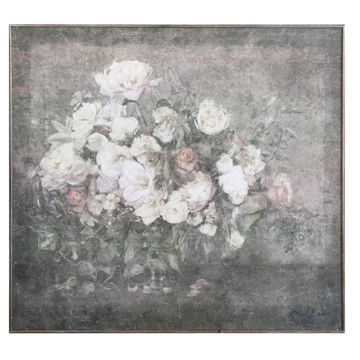 Picture of FLORAL WOOD WALL DECOR