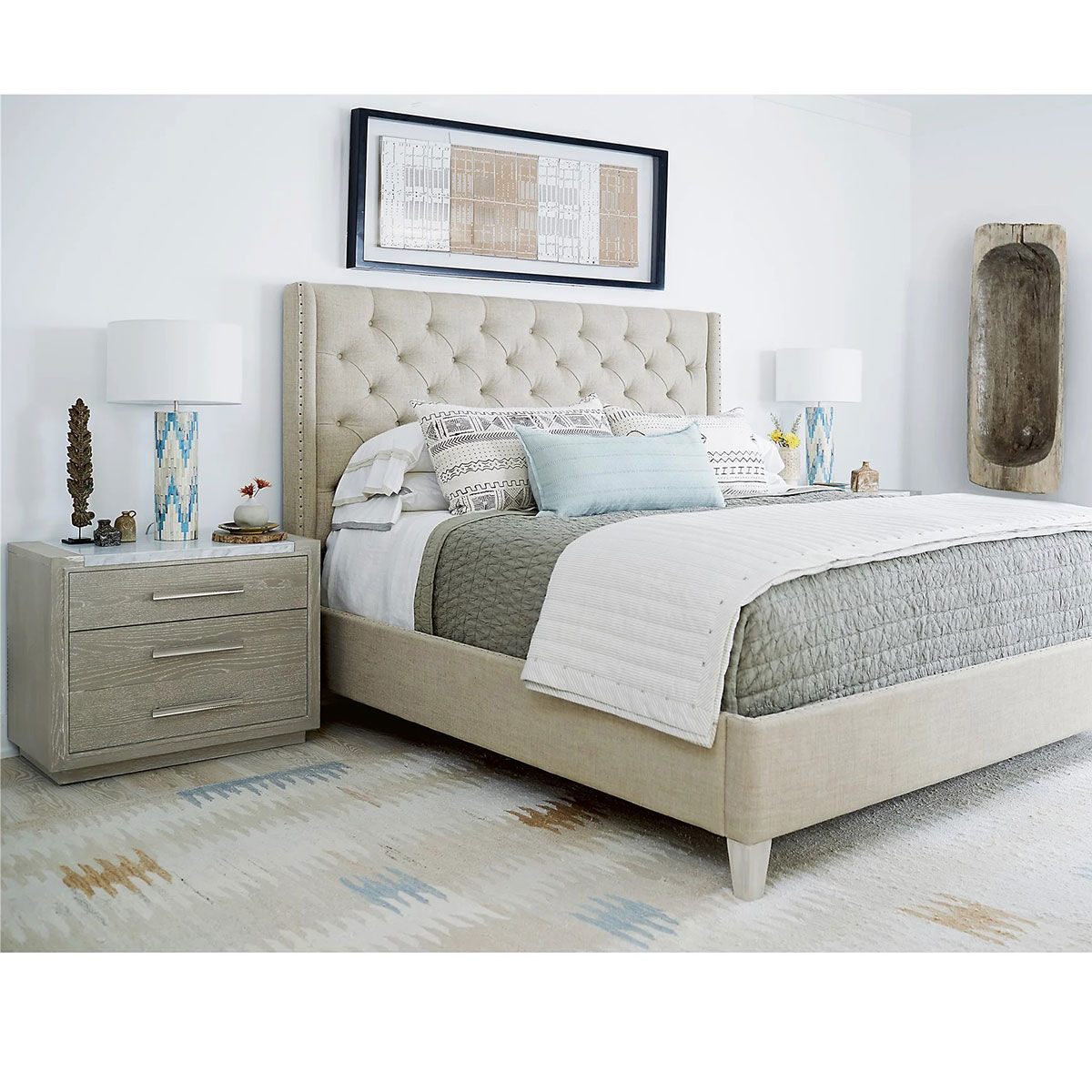 Picture of PANACHE QUEEN UPHOLSTERED BED