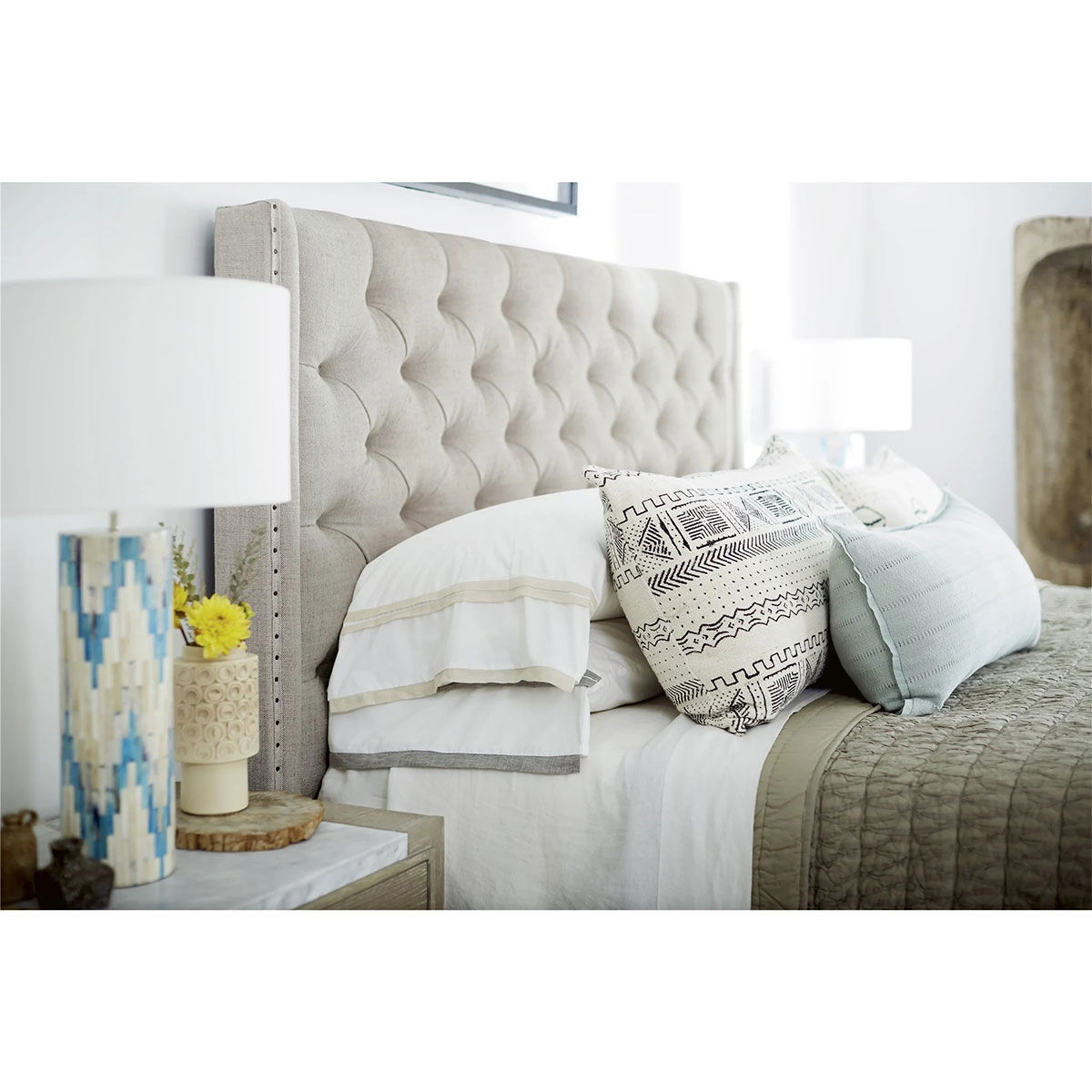 Picture of PANACHE KING UPHOLSTERED BED