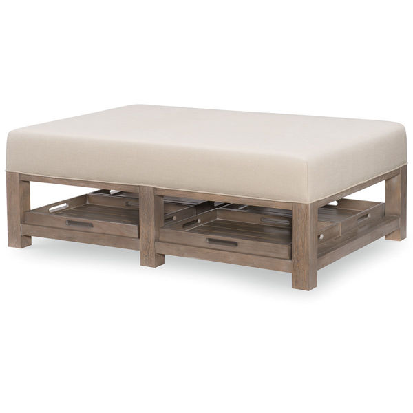 Picture of BRECKENRIDGE COCKTAIL OTTOMAN