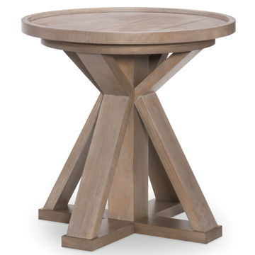 Picture of BRECKENRIDGE ROUND END TABLE