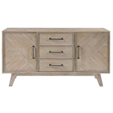 Picture of 3 DRW 2 DR MEDIA CREDENZA