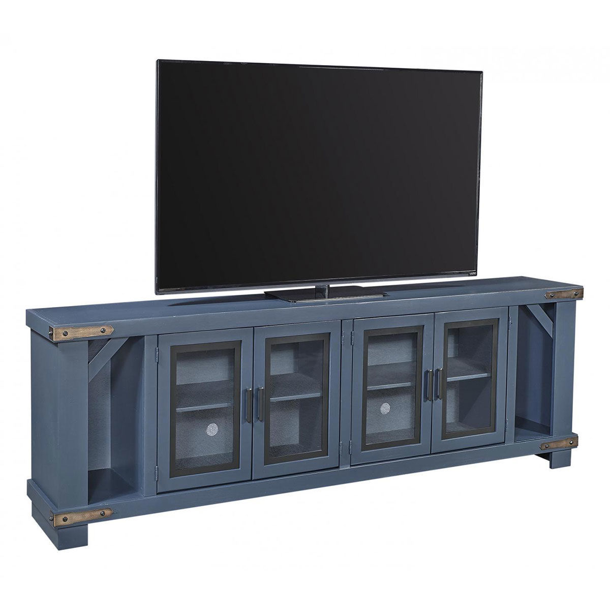"""Picture of SAWYER NAVY 98"""" CONSOLE"""
