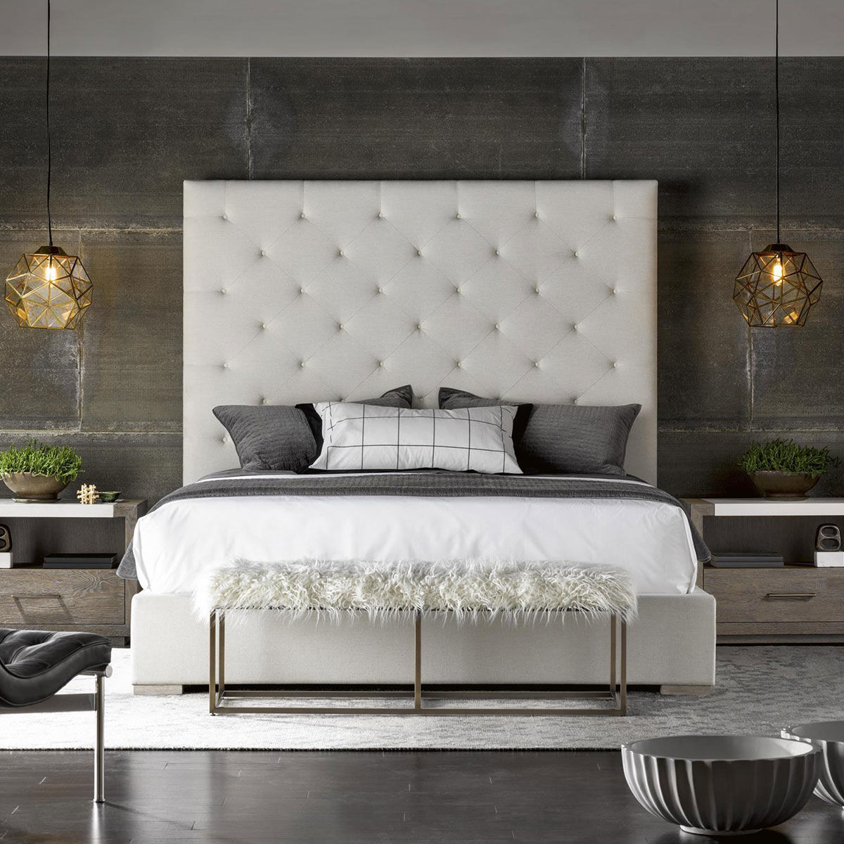 Picture of BRANDO UPHOLSTERED KING BED