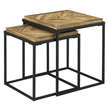 Picture of 2 PC SET OF NESTING TABLES