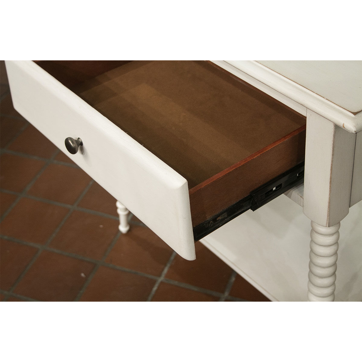 Picture of MYRA 1 DRAWER NIGHT STAND PAPER WHITE
