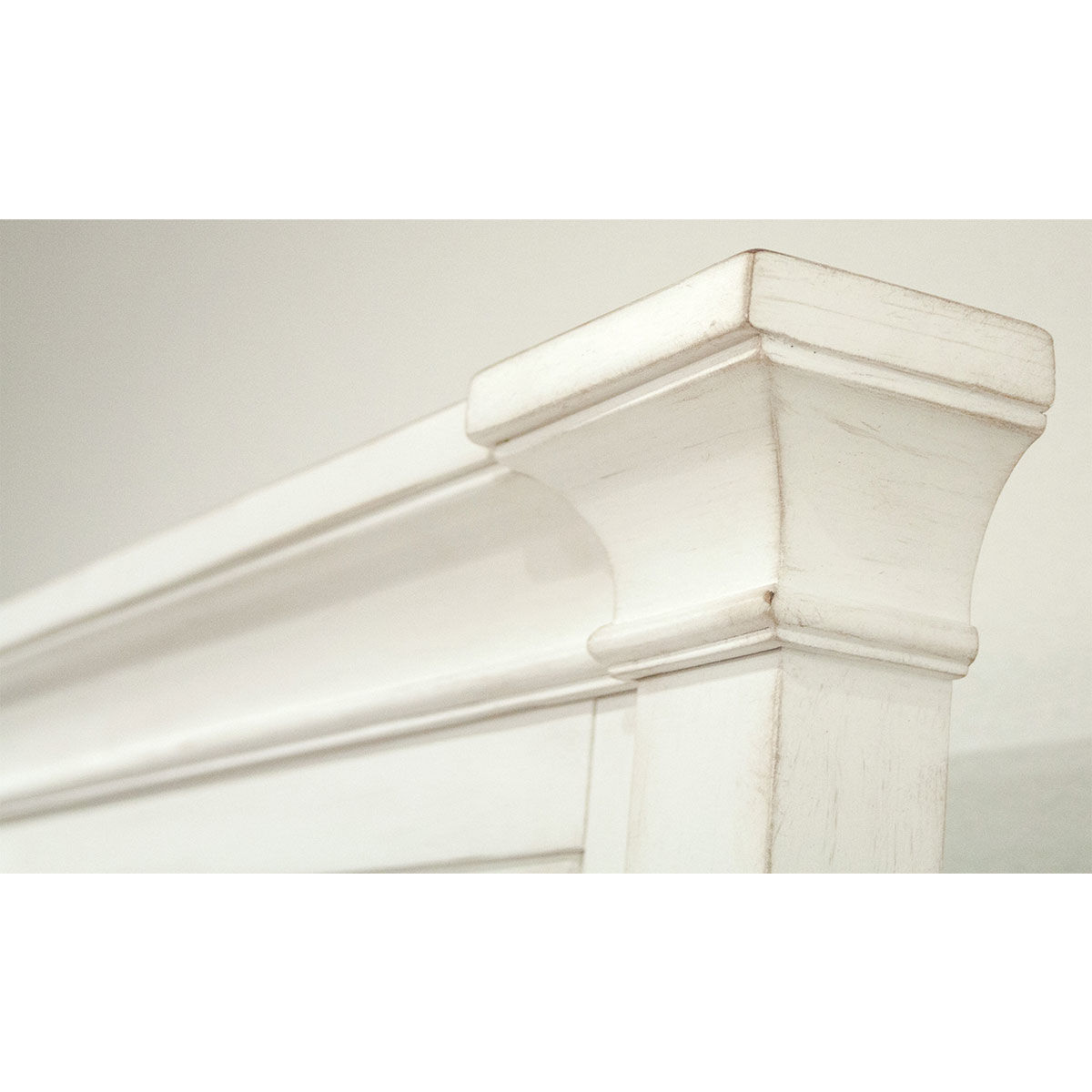 Picture of MYRA LOUVERED QUEEN BED WHITE