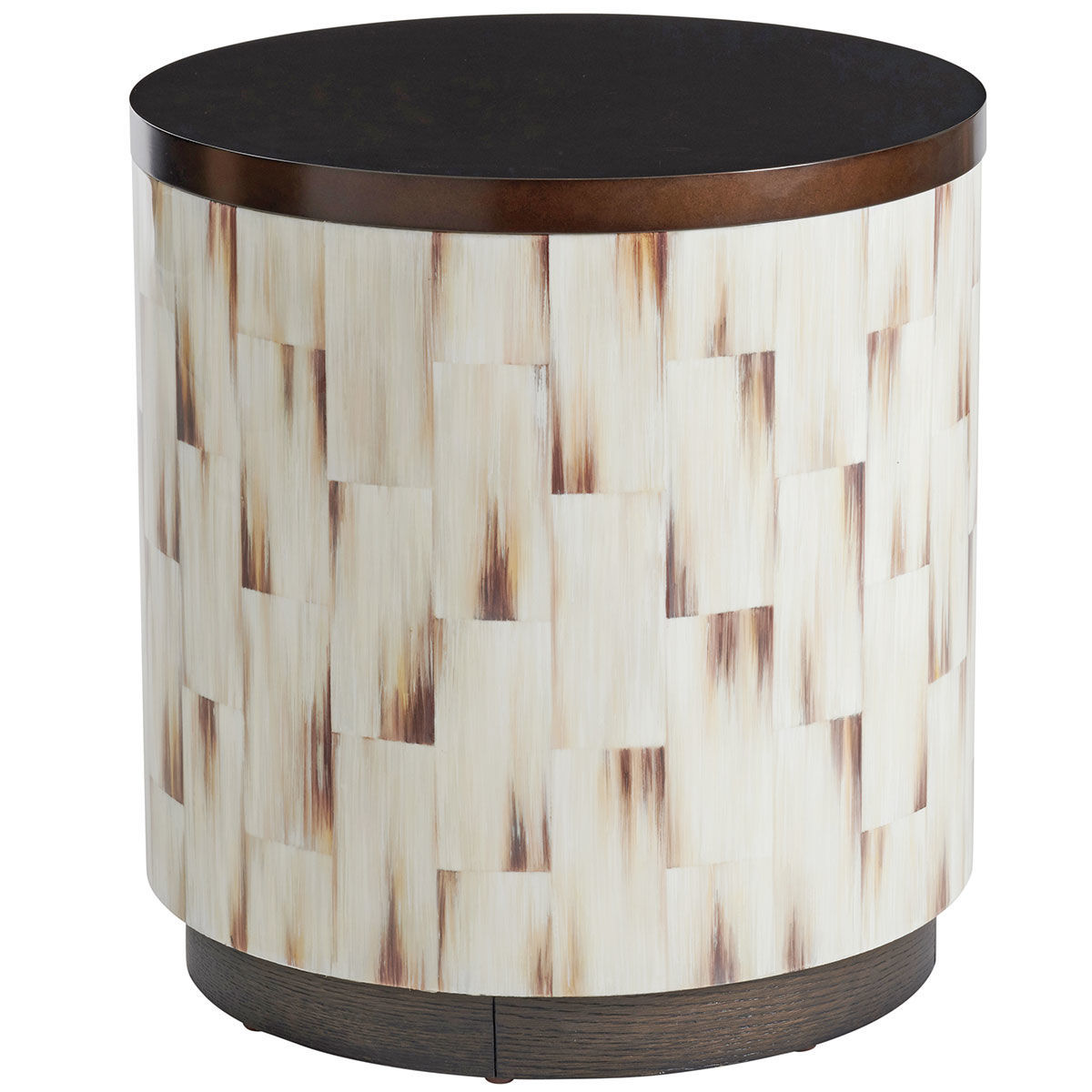Picture of CRESCENT COMMODE END TABLE