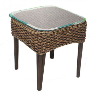 Picture of Sanibel Glass Top End Table