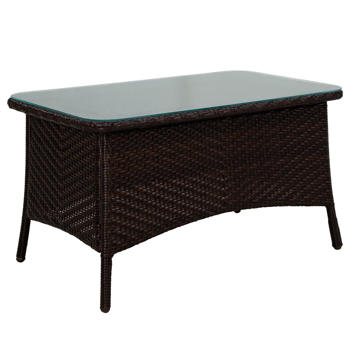 Picture of BAHIA COFFEE TABLE W/GLASS TOP