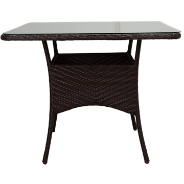 Picture of BAHIA BISTRO TABLE W/GLASS TOP