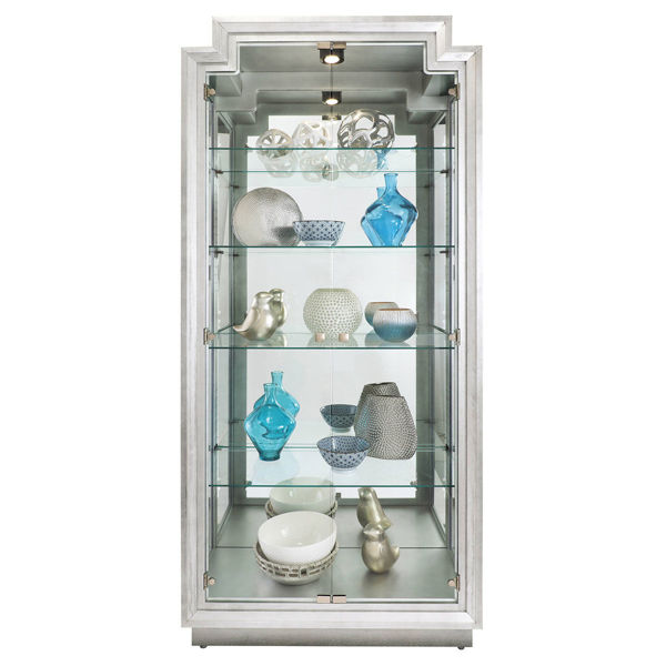 Picture of BEXLEY IV CURIO IN SILVER
