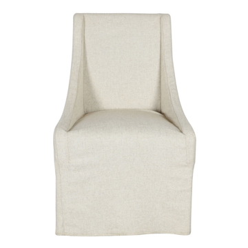Picture of WARWICK UPHOLSTERED ROLLING DINING CHAIR
