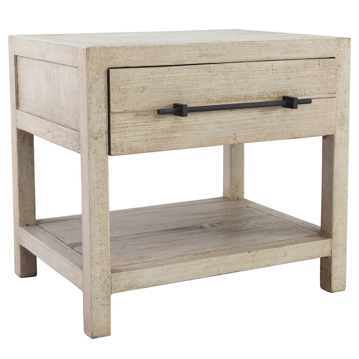 Picture of SOLVANG 1 DRAWER END TABLE CREAM