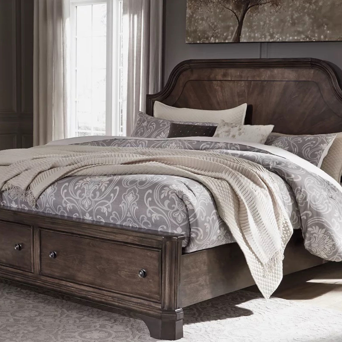 Picture of ARLINGTON KING STORAGE BED