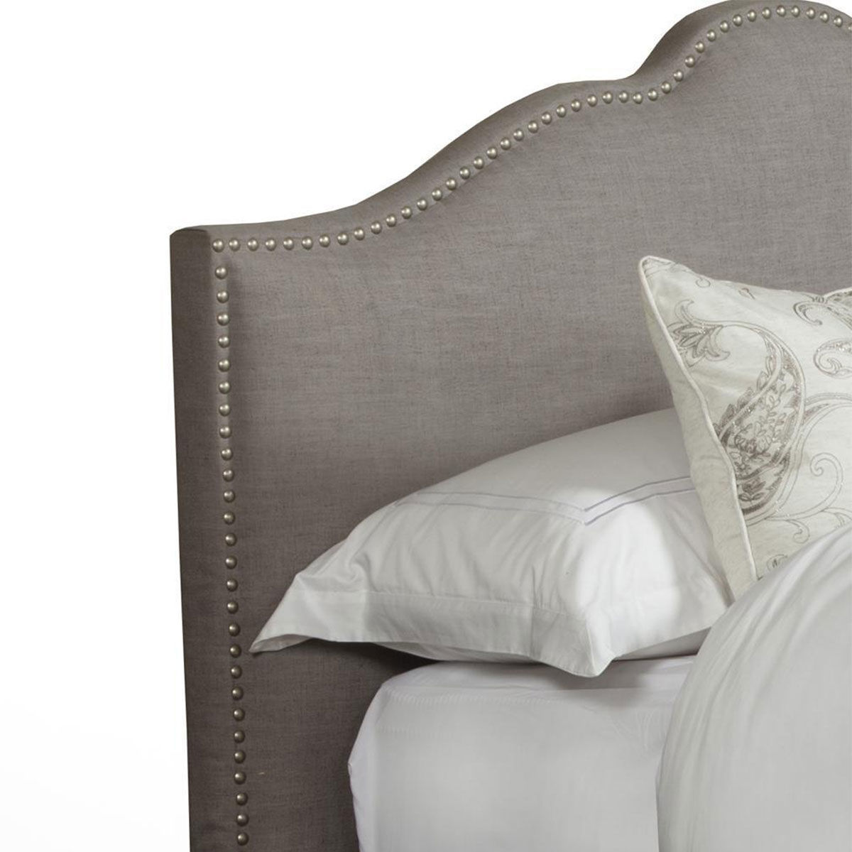 Picture of JAMIE UPHOLSTERED KING BED IN FALSTAFF