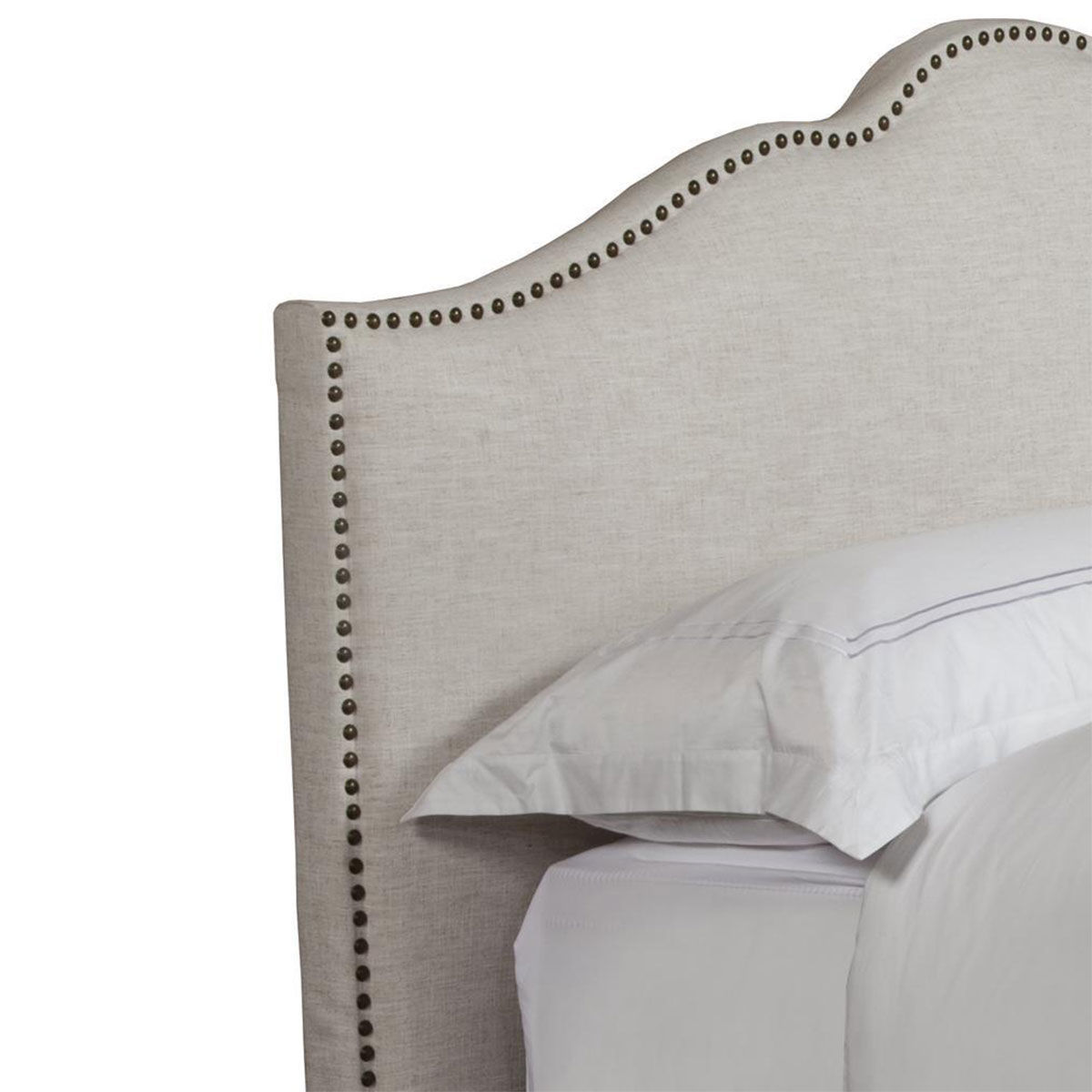 Picture of JAMIE FLOUR UPHOLSTERED KING BED