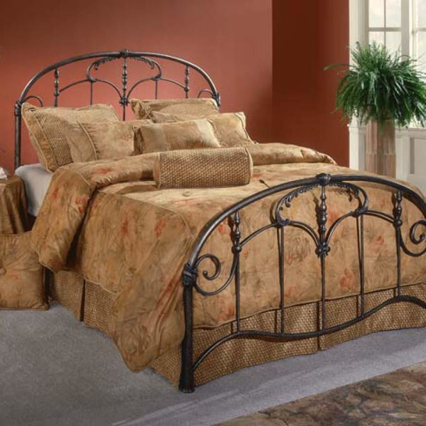 Picture of JACQUELINE BLACK METAL BED