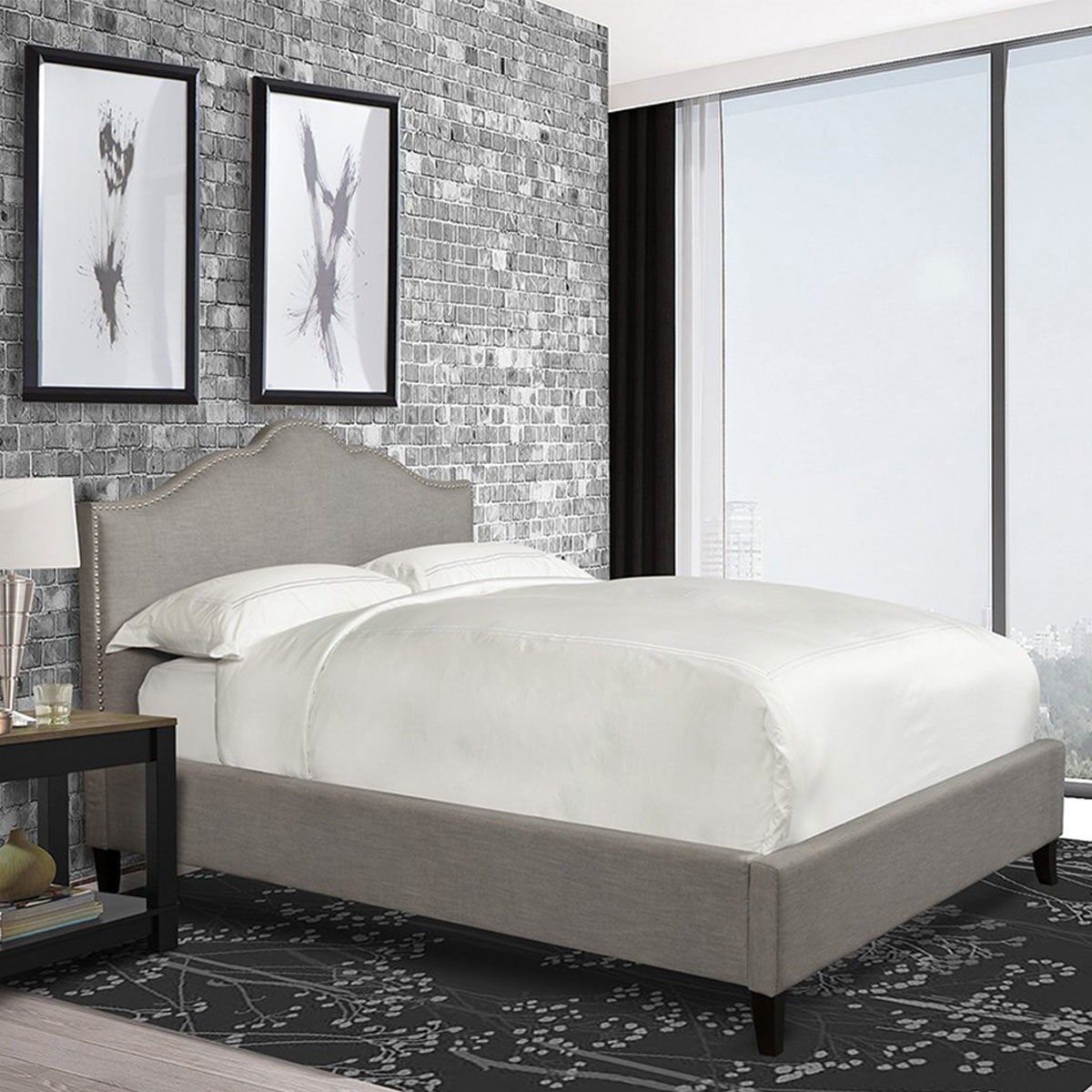 Picture of JAMIE UPHOLSTERED BED