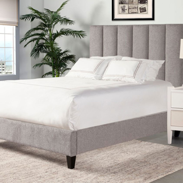 Picture of AVERY UPHOLSTERED BED IN STREAM
