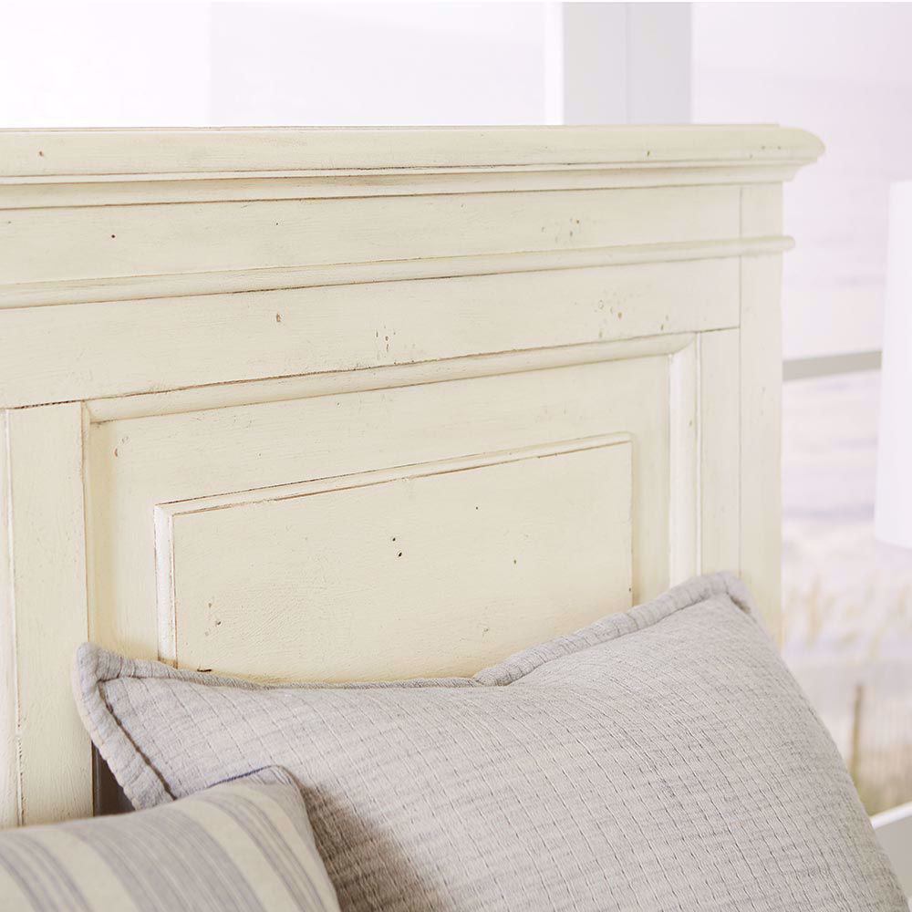 Picture of SHORELINE WHITE PANEL BED