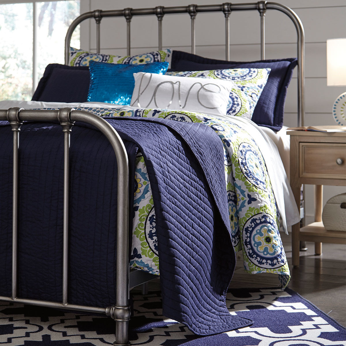 Picture of NASHVILLE TWIN METAL BED